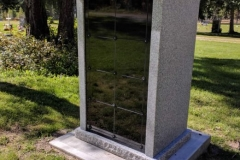 16-Niche Custom designed Columbaria available from Kootenay Monument Installations
