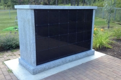 48-Niche Rectangle - Custom Columbaria available from Kootenay Monument Installations