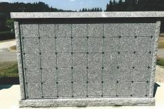 KMI R 80 - Custom Columbaria installed by Kootenay Monument Installations