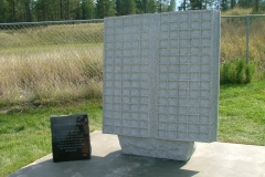 Memorial Book in Invermere, BC. Kootenay Monument Installations offers Memorial Books in various sizes from 150 spaces to 300 spaces.