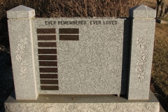Kootenay Monument Installations offers many different options for Memorial Walls.